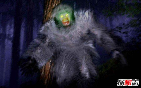 5、香普林水怪 6、巨龙 7、狼人 8、女妖塞壬 9、欧肯纳根水怪 10、巨鱿鱼 1、弗拉特伍兹怪物  弗拉特伍兹怪物曾在美国的西佛吉尼亚州出现过,在1952年的9月12日19时15分,有目击者看到一个全身带火的UFO掉落到了一个农场上面。 人们跑过去一看,发现一个满脸通红的怪物,并且散发着恶心难闻的刺激性气味,有着大大的眼睛,身高大概在3米左右。那个怪物身穿绿色的衣服,浮在空中。闻到气味的人都出现了鼻肿,咽喉痛的症状。因为害怕,这些人赶忙逃离了这里。 2、卓柏卡布拉  这是一个喜欢吸血的怪物,1995年