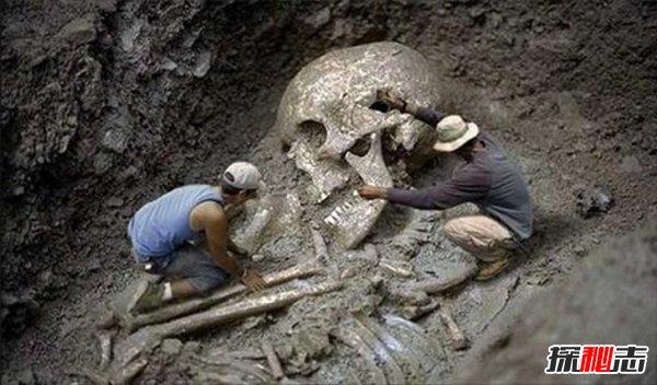 古代有巨人吗,中外都挖出过古巨人遗骸