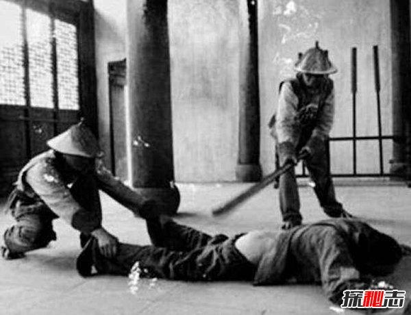 古代五种刑罚之一笞刑,带你看看各国笞刑现场(有图)