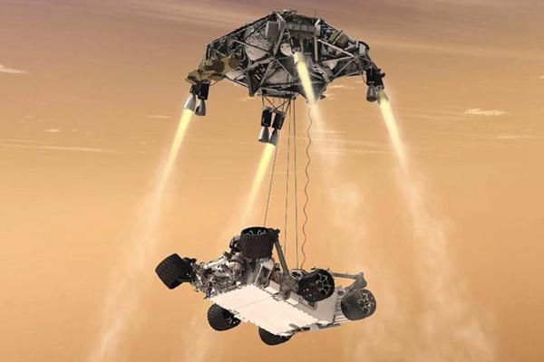 现在火星上有几个探测器?1960年首个探测器升空(数十个)