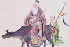 老子简介:著《道德经》骑青牛出关,道家学派创始人