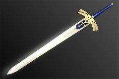中世纪欧洲三大圣剑:亚瑟王的断钢剑(由黄金铸造)