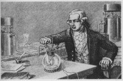 拉瓦锡对化学的主要贡献:提出氧化学说(重新定义元素)