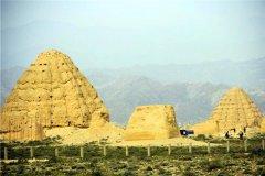 东方金字塔在哪个城市:位于我国的宁夏(西夏王陵)