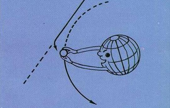 月球俘获假说图片