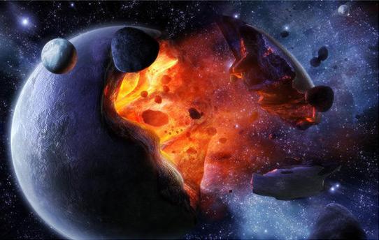 月球核爆炸假说图片