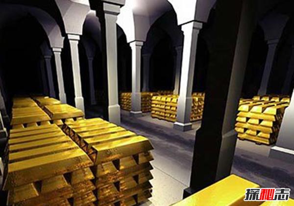 沙皇500吨黄金之谜,被藏匿世界某秘密基地(120万护队无故消失)