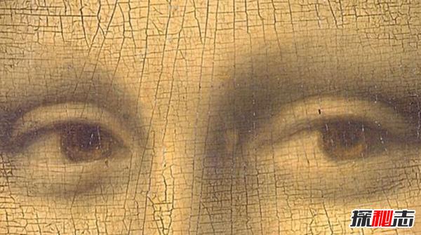 蒙娜丽莎的眼睛隐藏的秘密!蒙娜丽莎的眼睛放大里有什么