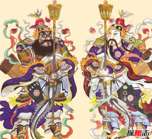 民间春节习俗贴门神 家家户户为什么要贴门神(传统习俗)