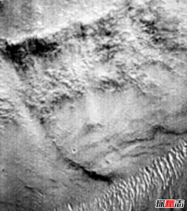 火星上的狮身人面像之谜,火星又一处古文明痕迹(奇特构造)
