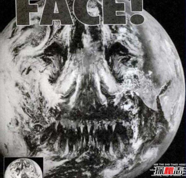 1999年地球恶魔脸事件之谜,另一空间生命带来的暗示