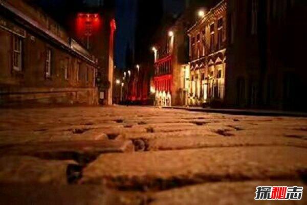 世界七大毛骨悚然之地,爱丁堡玛丽金街鬼魂触碰