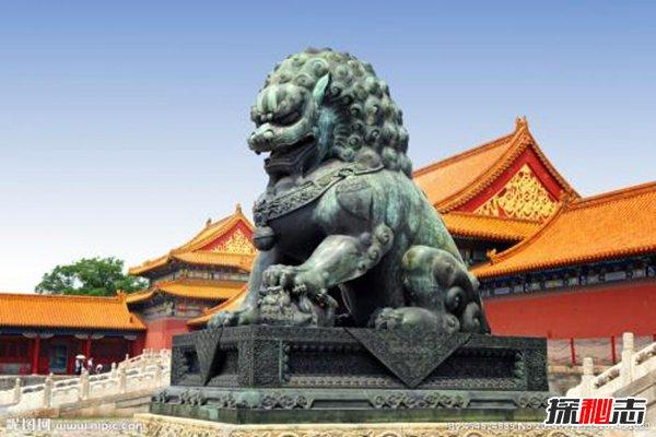故宫的狮子不能摸,石狮竟是皇子转世
