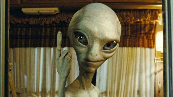外星人来地球做什么图片