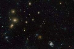 宇宙長城為什麼這麼大?星系成群相連(lian)(最長100億(yi)光年)