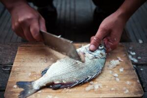 杀鱼的正确方法最快,敲死鱼、去鱼鳞、开膛破肚、去鱼鳃