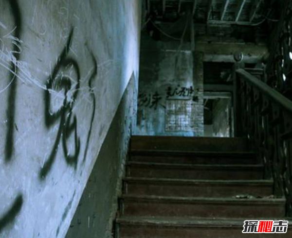 半夜楼梯灵异事件图片