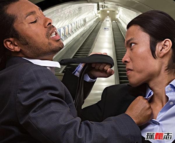惨不忍睹!盘点发生的斗殴事件,广州地铁两人口角斗殴(血迹斑斑)