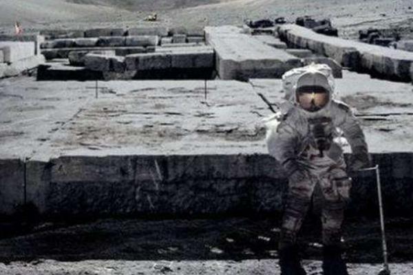 月球惊现远古城市废墟:美国阿波罗发现44处文明遗迹