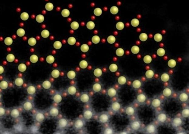 SEM电子显微镜下的原子,人体肉眼看不到隐形原子
