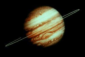 土星的光环是什么组成,土星环的厚度是多少/最薄10米