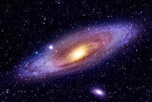 仙女星系里有生命吗,仙女星系和银河系谁大/38亿年后相撞