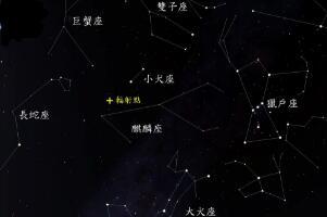 中国最吉祥的星座,麒麟座/拥有最美的天体玫瑰星云