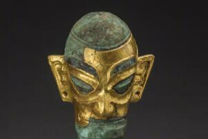 三星堆未公开的文物,黄金王冠/古蜀国帝王的权利象征