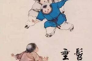 垂髫(tiáo)之年是指多少岁,头发下垂的孩子(女3-7岁/男8岁)
