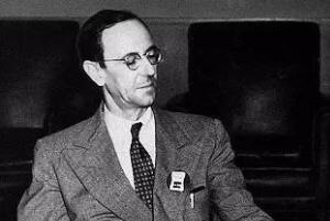 中子的发现者,詹姆斯·查德威克(曾获诺贝尔物理学奖)