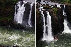 世界上最神秘的瀑布 魔鬼水壶瀑布(不知水流向何处)