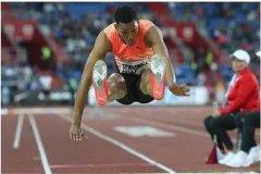 男子跳远世界纪录:8.95米(1991年创下)