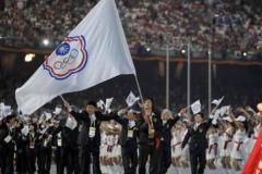奥运会台湾夺冠奏什么歌:国旗歌(升台湾地区奥委会会旗)