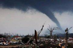 龙卷风破坏力有多强:超强龙卷风释放8颗原子弹能量