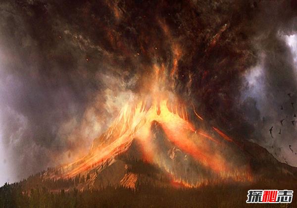 世界上最危险的十二座火山,维苏威火山周围300万居民(毁灭性)