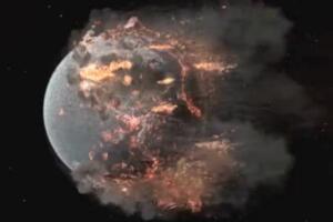 中子星和黑洞哪个密度大,中子星撞击地球/瞬间灭人类