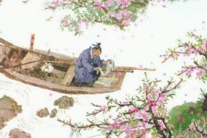 桃花源记恐怖真相,渔夫误入古坟深入(跟灵魂交谈)