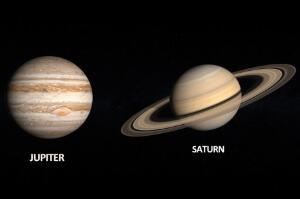 木星会吞噬土星吗,不会(一旦吞噬地球将偏离轨道)