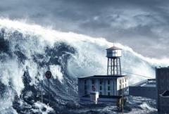 海啸自救方法:要尽可能跑远一点(卷入水中难以逃离)