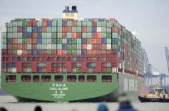"""世界上最大的集装箱船:""""现代·阿尔赫西拉斯""""号"""