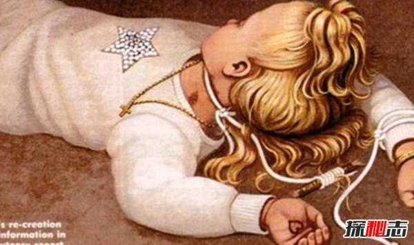 吓疯警察?至今未破的十大悬案,六岁选美皇后家中棍棒打死