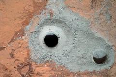 好奇号火星惊人发现诡异图 疑似外星人骨(专家称是岩石)