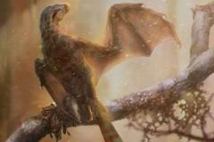 长臂浑元龙:中国小型擅攀鸟龙(仅0.32米/长有蝙蝠翅膀)