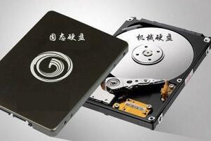机械硬盘和固态硬盘的区别,固态噪音小效率高/机械重量大价格低