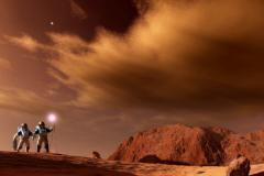 人类移民火星有可能吗?不可能,只有液态湖水没有磁场