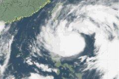 台风预警信号分为几种:4种(蓝色、黄色、橙色、红色)