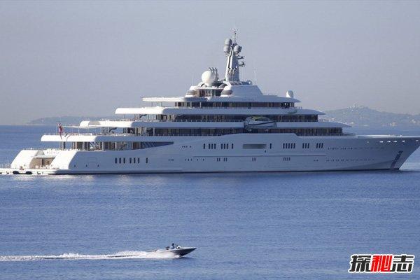 世界十大最贵私人游艇,日食-15亿美元