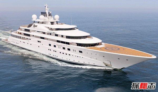 世界十大最贵私人游艇,黄玉-5.2亿美元