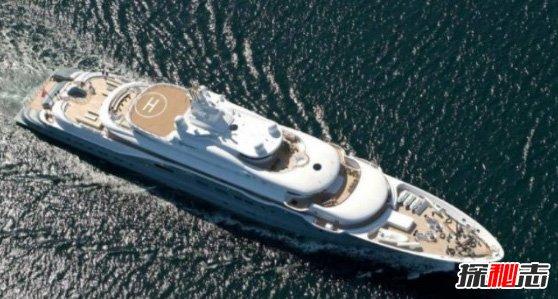 世界十大最贵私人游艇,辐射-3.2亿美元