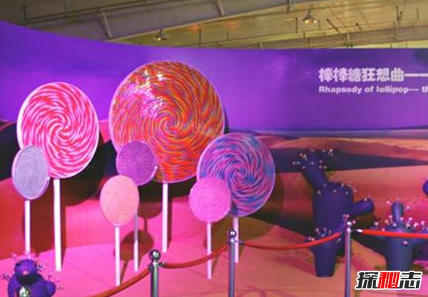 世界上最大的棒棒糖:汽车平均重量的3倍(附照片)